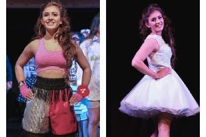 Charlie Jarvis at the Miss Cumbria finals at the weekend.