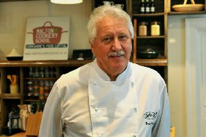 TV chef Brian Turner is coming to Whitby.