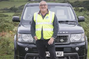 Mike Thomas is a driver with Whitby and District Community Transport.
