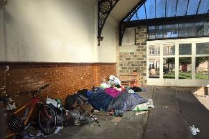 Sleeping rough in Harrogate - The authorities are working hard to help but stress that the situation is not as simple or clear-cut as the public may think.