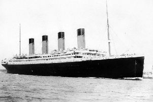 The Titanic went down on 14 April 1912