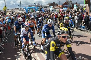 The Tour de Yorkshire in Bridlington