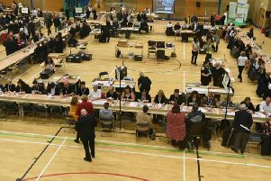 The count under way