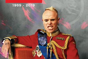 Keith Flint print is being sold to raise funds for MIND