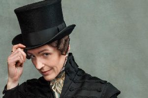 Suranne Jones as Anne Lister. Picture: Lookout Point/HBO - Photographer: Jay Brooks