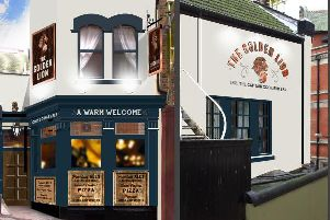Image of how the pub could have looked and will now look from Star pubs