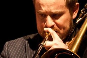Trombonist Kevin Holbrough is the guest on July 3
