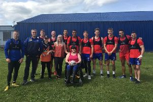 Two huge Rugby fans with learning disabilities were treated to a behind the scenes experience at Wakefield Trinity.
