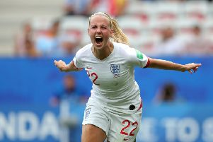 England's Beth Mead. Picture: Richard Sellers/PA