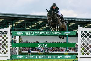 Cock othe North WINNER Richard Howley, from Wetherby, riding Chinook