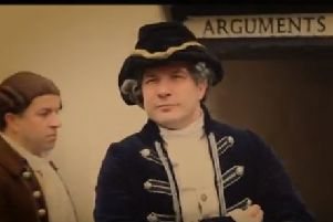 A screen grab from the trailer of the play, Resolution.
