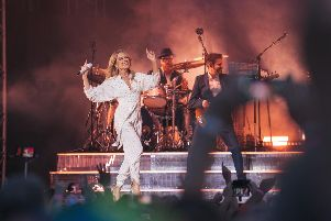 The Pop Princess wows the crowd.