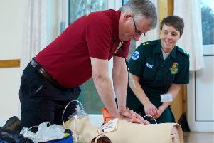 All first responders will be trained by the Yorkshire Ambulance Service.