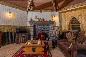The replica of Hagrid's Hut'picture: Charlotte Graham