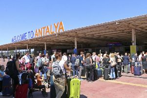 Thousands of people face disrupted travel plans because of the collapse