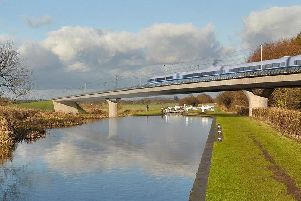 The HS2 rail line will help to improve frequency of services between Chesterfield, Derby and Birmingham, new research shows.