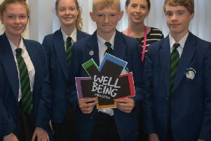 Pupils at Carr Hill High School have signed up top two new mental health projects