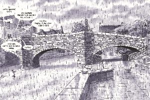 Wigan authors' graphic climate warnings in new novel