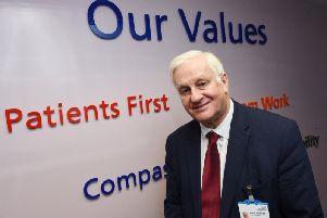 Wigan's outgoing NHS chief gives final interview before his retirement
