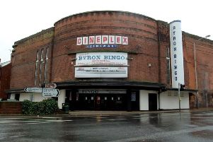 How the iconic Byron Cinema building looked before its closure.