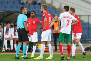 Members of the England side were subject to racist abuse in Bulgaria earlier this month
