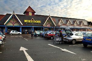 The Morrisons supermarket in Ince