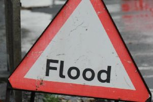 Wigan roads have been flooded this morning