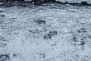 A miserably wet weekend lies ahead for Wigan