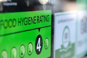 Wigan's latest hygiene ratings