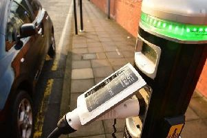 A car-charge port
