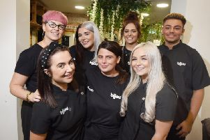 Staff at Bijou Hair Salon