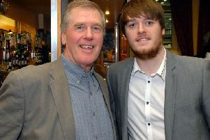 Former councillor Stephen Murphy, who has died aged 71, pictured with his son Sam who has led the tributes