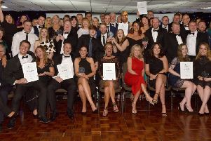 Winners at the Wigan Business Awards
