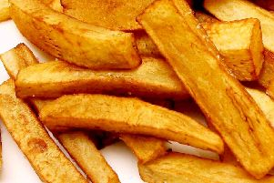 The perfect chip should be precisely 7cm long