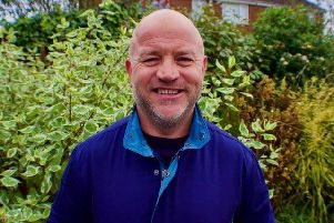 Independent candidate for Batley and Spen Paul Halloran