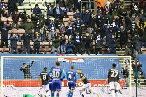 George Puscas equalises for Reading