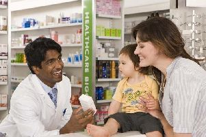 Pharmacists can offer healthcare advice