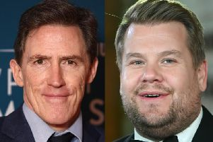 Rob Brydon and James Corden