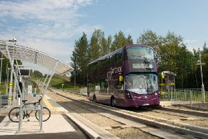 The guided busway has proven a huge success