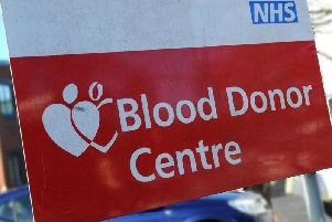 Men are being urged to give blood