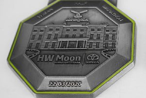 Medals unveiled for Run Wigan Festival