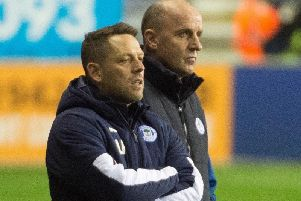 Paul Cook (right), with assistant Leam Richardson