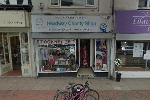 Thieves targeted the Headway shop over the weekend. Picture: Google Street View