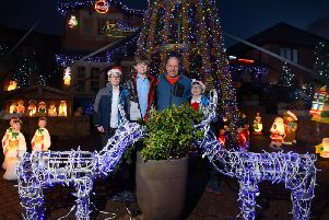 Paul Molyneux with sons, Alfie, 10, Ethan, 13, and Theo, nine