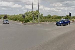 The junction on the A580 where the collision happened. Picture: Google