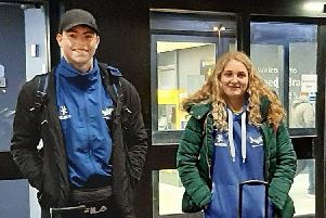 Dewsbury swimmers Adam Wood and Martha Bradley competed at an international event in Luxembourg.