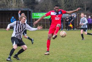 Darren Mansaram was on the scoresheet for Armthorpe.