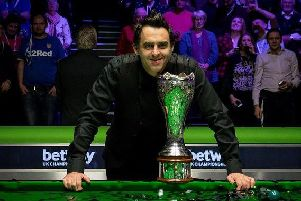 Ronnie OSullivan will begin the defence of his crown against Luke Simmonds in York