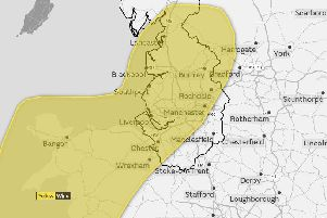 Storm Diana: Yellow weather warning issued as heavy rain and gales set to hit the North West