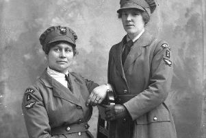 First World War volunteer ladies - From The Studio exhibition at Cusworth Hall